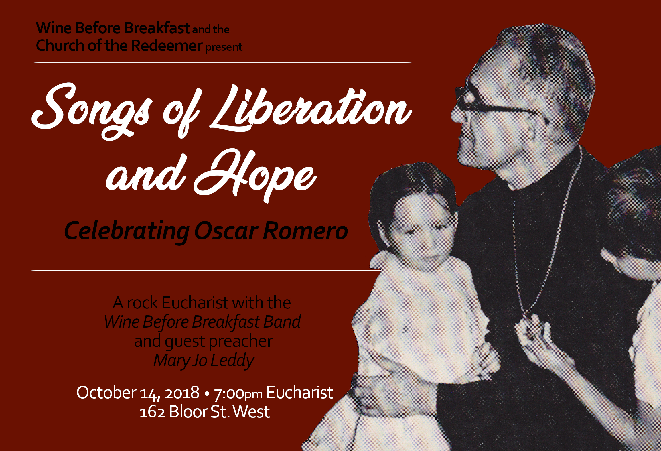 Rock Eucharist Oscar Romero Red
